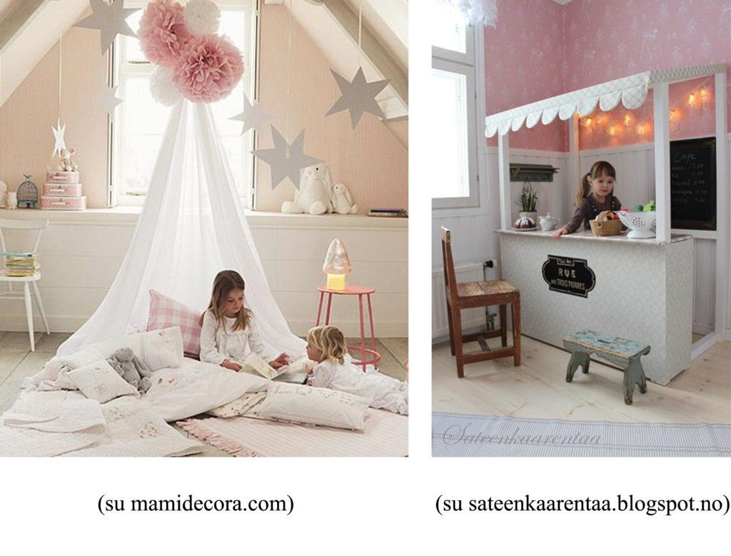 Idee per decorare la cameretta dei bambini righetti - Decorare camera bimbi ...