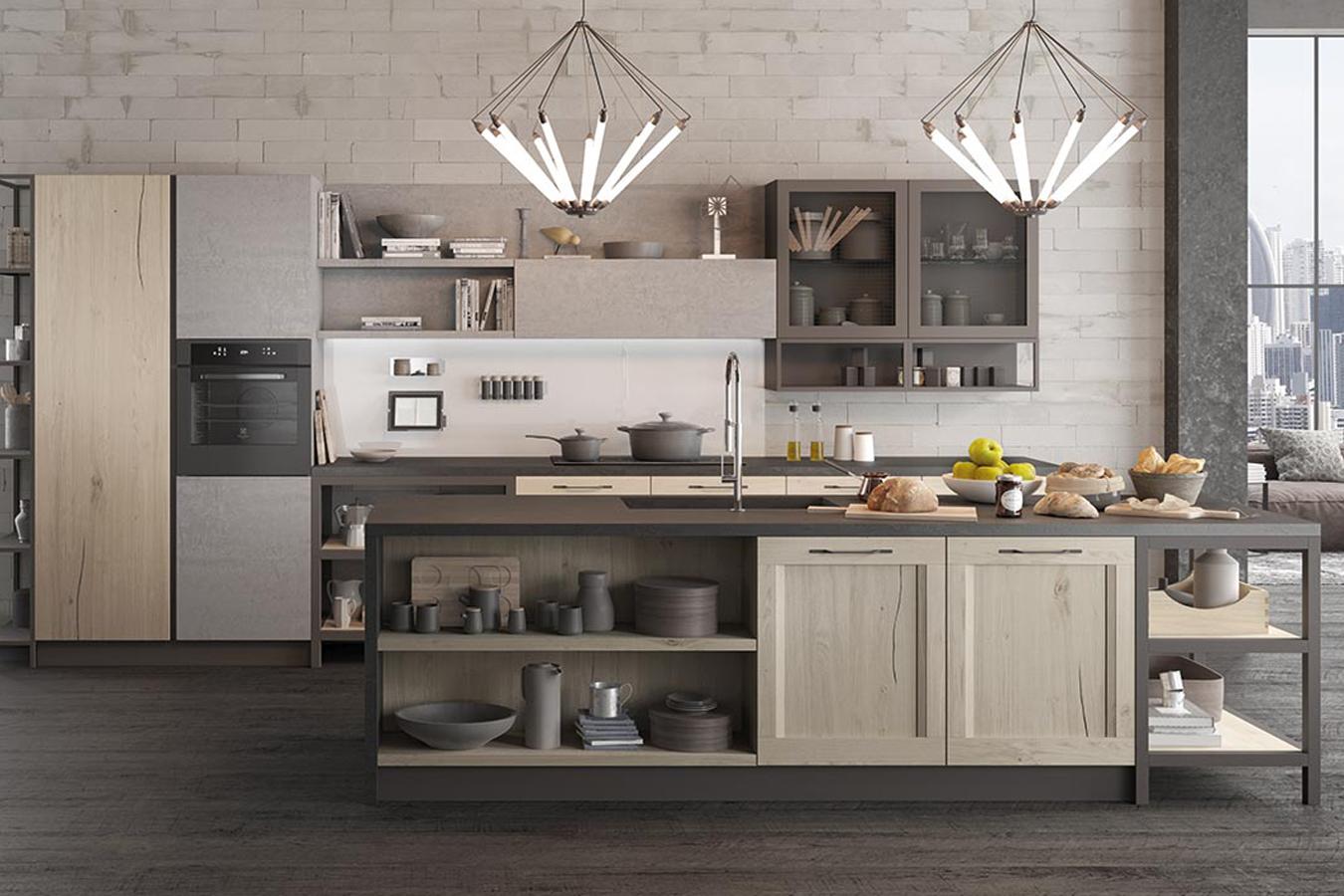 Cucina asia factory di arredo3 righetti mobili novara for Cucina arreda