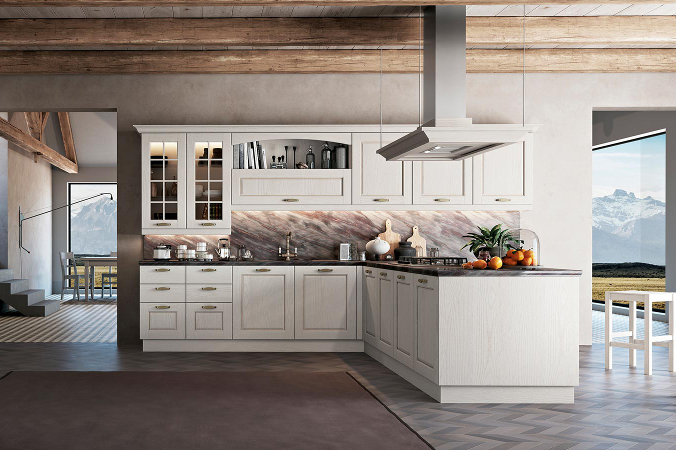 Cucine Arredamento Piemonte.Cucine Classiche Righetti Mobili Novara