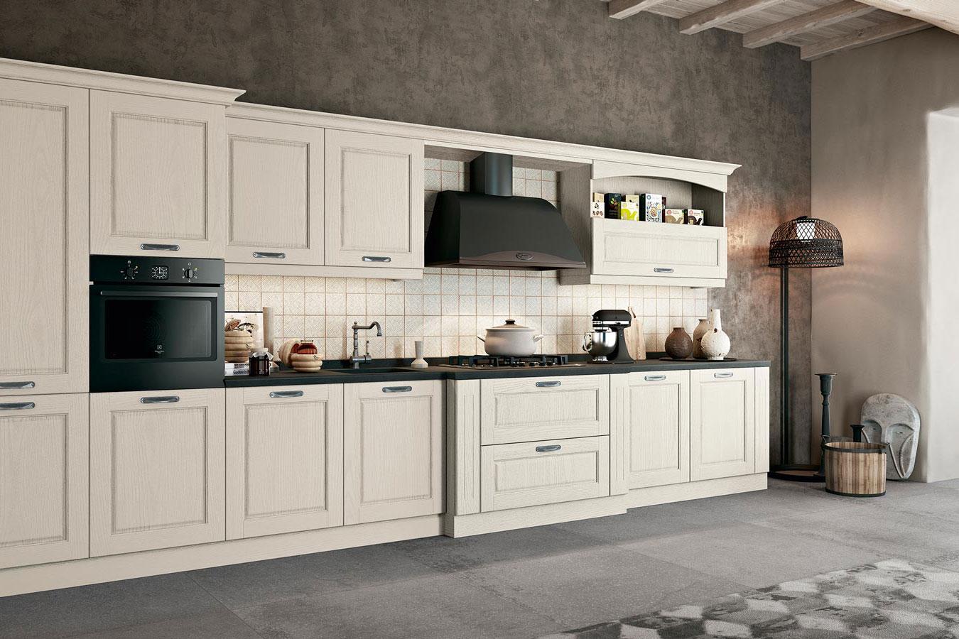 Cucina classica asolo di arredo3 righetti mobili novara for Cucina arreda