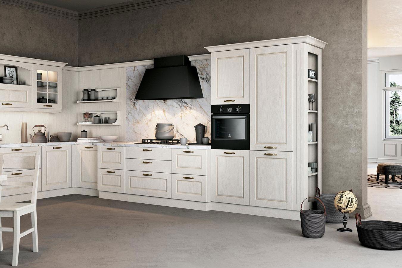 Cucina classica Asolo di Arredo3 da righetti mobili a Novara Piemonte
