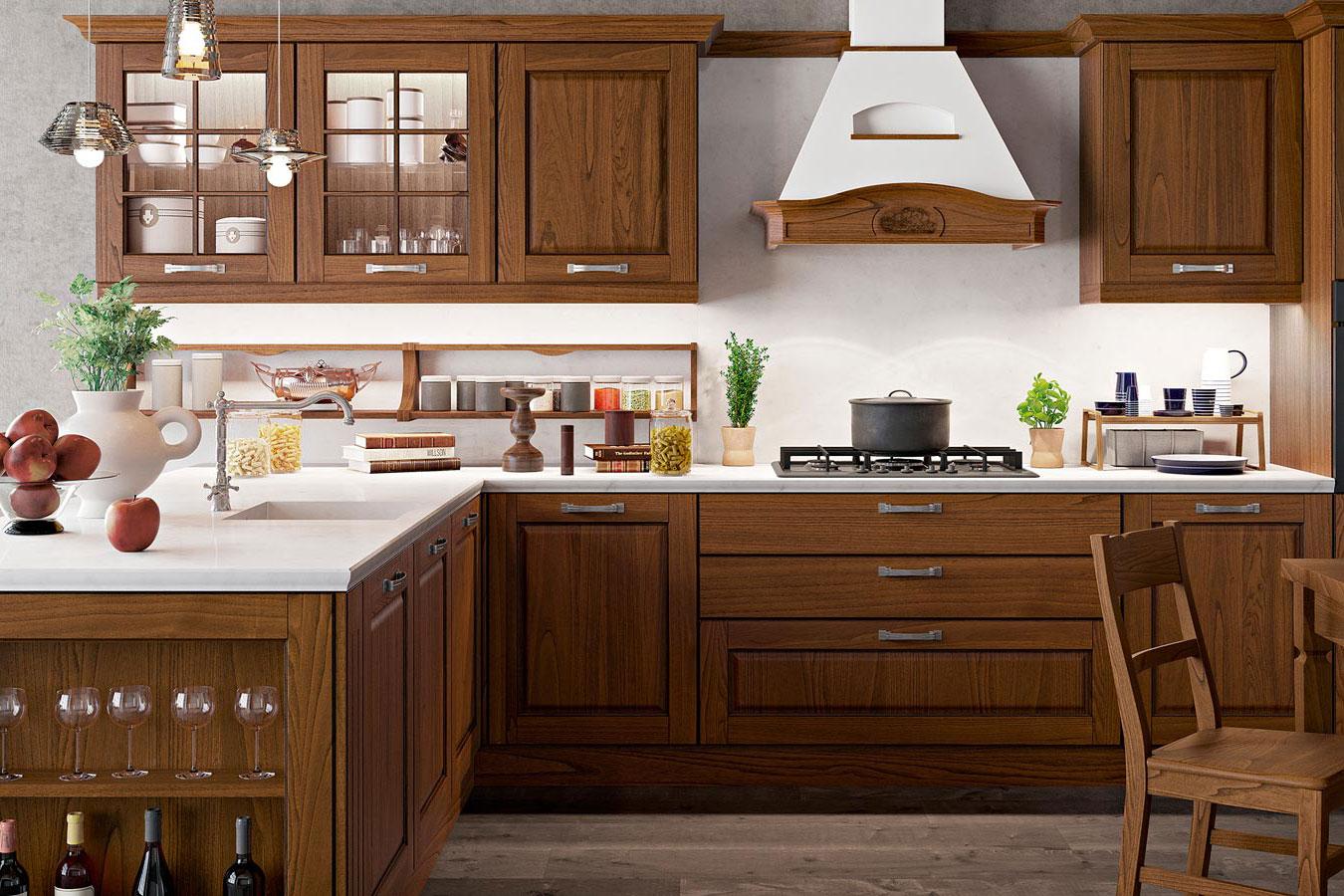 Cucina classica asolo di arredo3 righetti mobili novara for Oggettistica cucina online