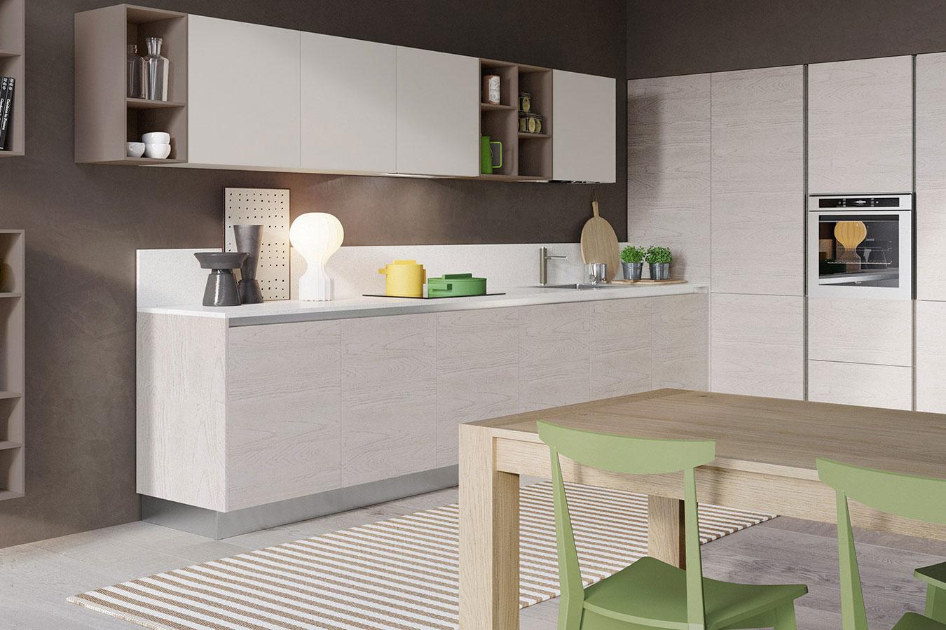 Cucina cloe di arredo3 righetti mobili novara for Complementi arredo cucina