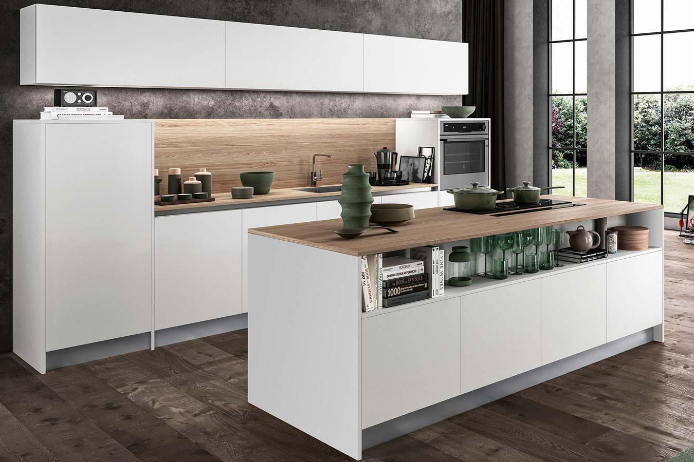 Cucina cloe di arredo3 righetti mobili novara - Arredo3 cucine moderne ...