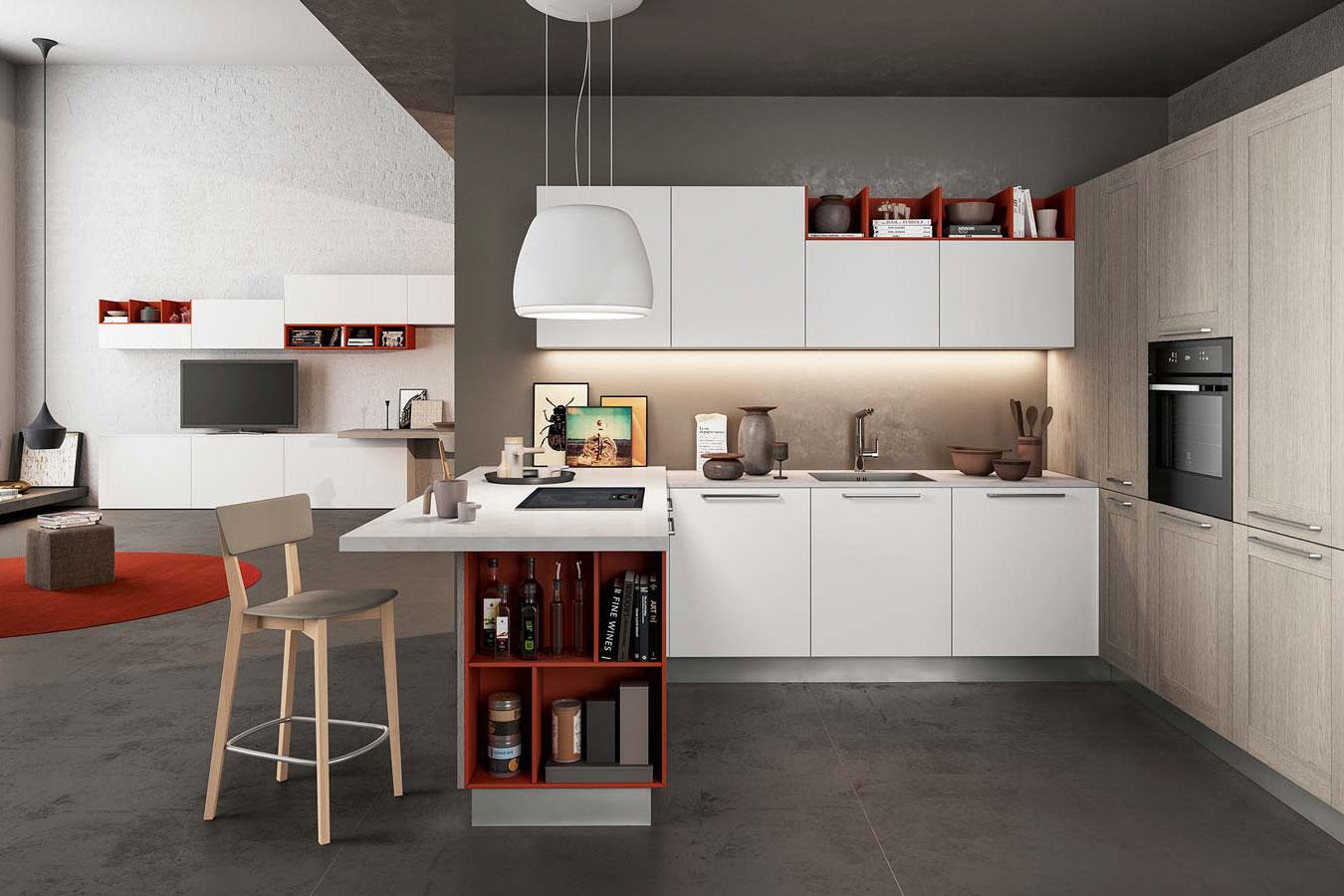 Cucina cloe di arredo3 righetti mobili novara for Oggettistica cucina online