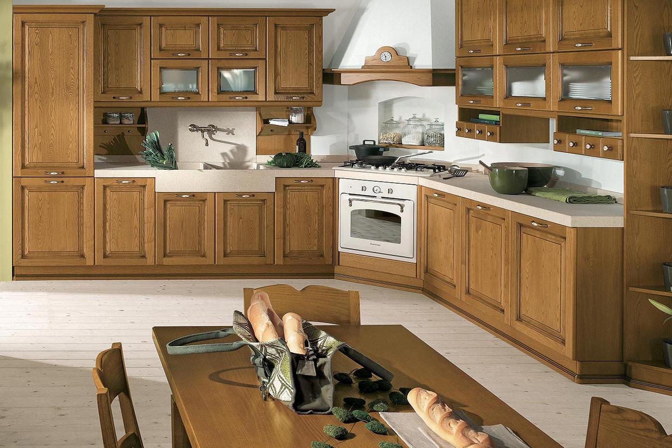 Cucina classica DIANA di Arredo3 - Righetti Mobili Novara