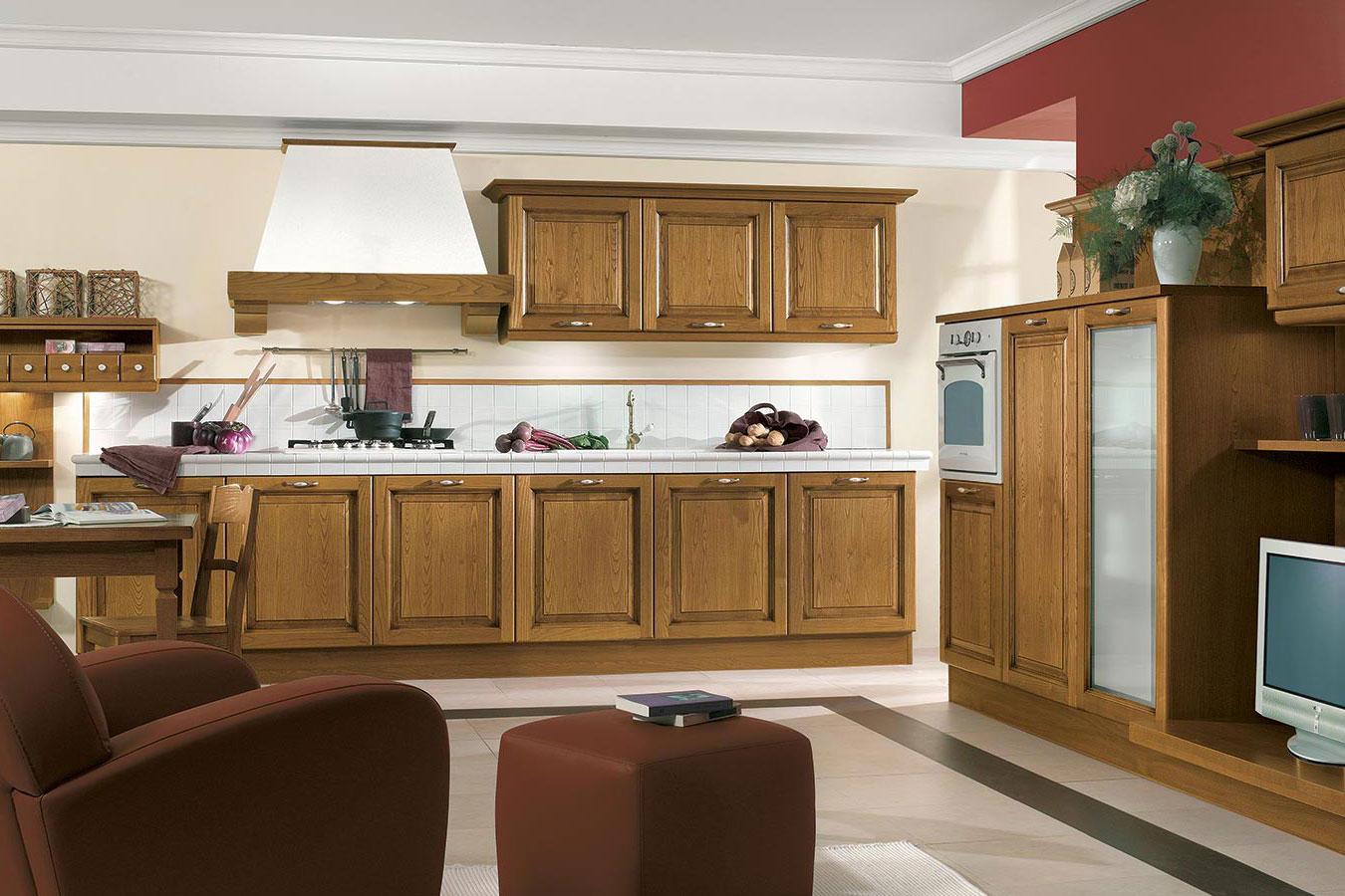 Cucina classica diana di arredo3 righetti mobili novara for Oggettistica cucina online
