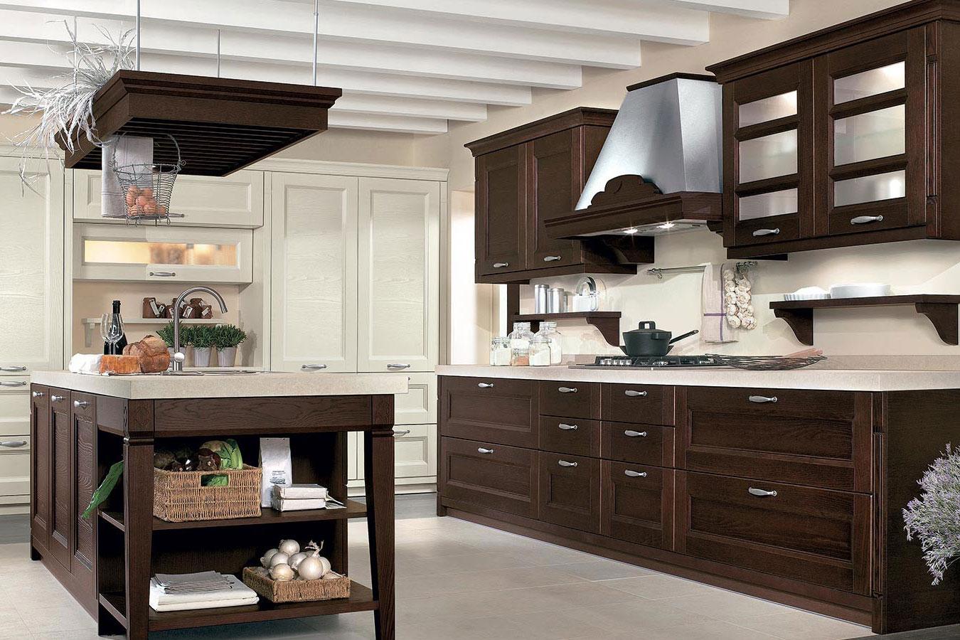 Cucina classica gioiosa di arredo righetti mobili novara