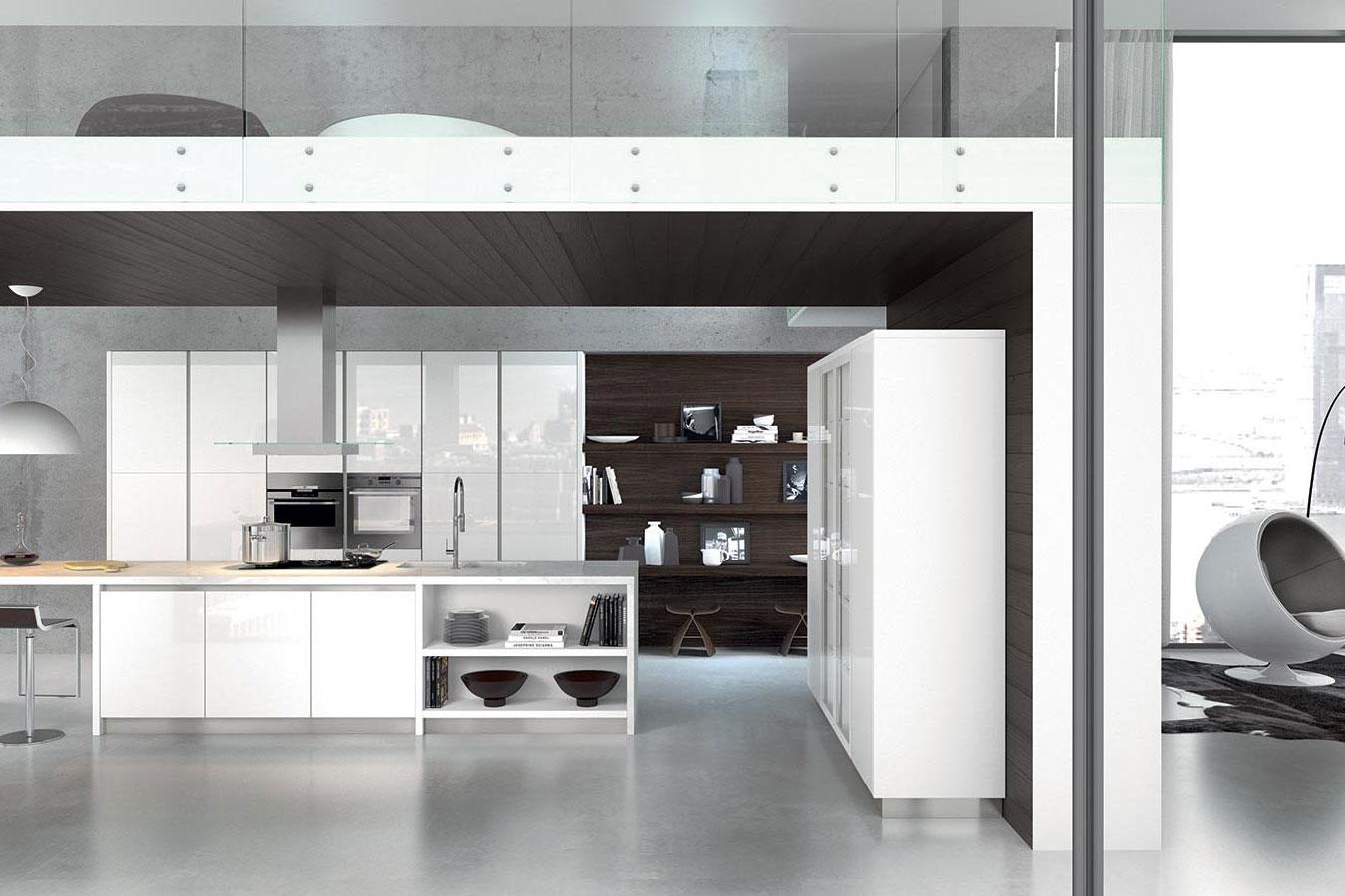 Cucina moderna bianca: come renderla unica. - Righetti Mobili Novara