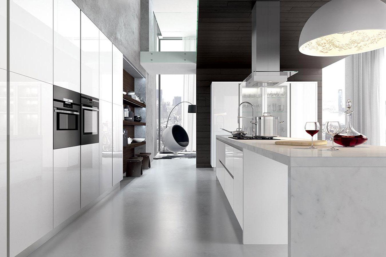Cucina Glass di Arredo3 da righetti mobili a Novara Piemonte
