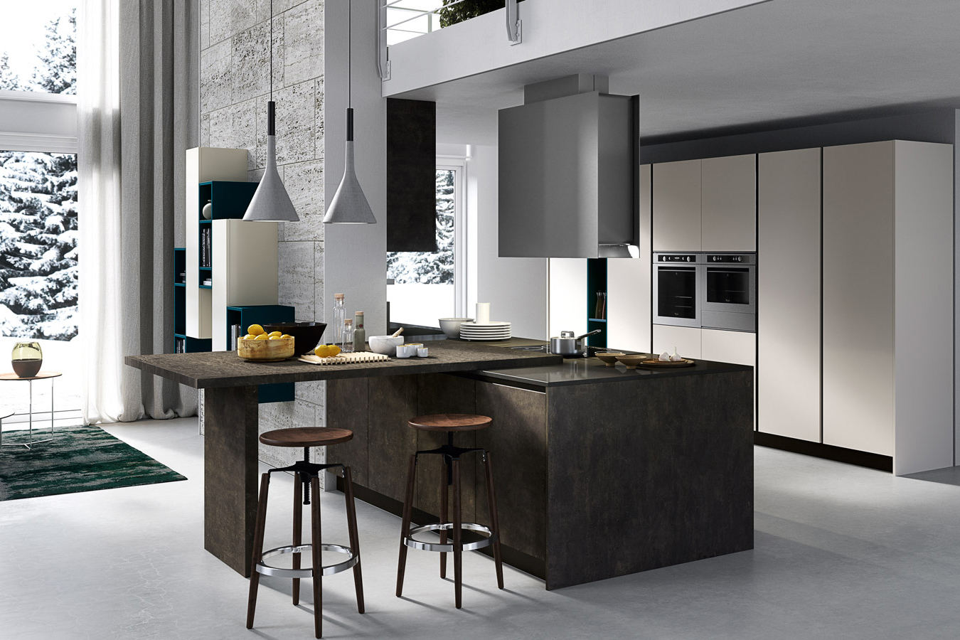 Mobili cucine moderne cheap cucine moderne with mobili for Mobili cucine moderne componibili
