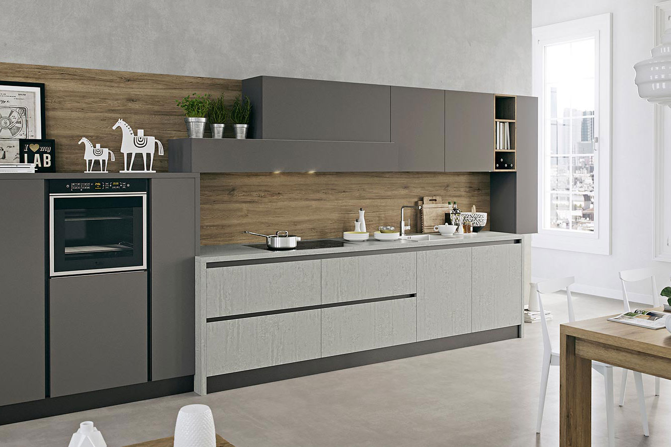 Cucina kal di arredo3 righetti mobili novara for Cucine da arredo