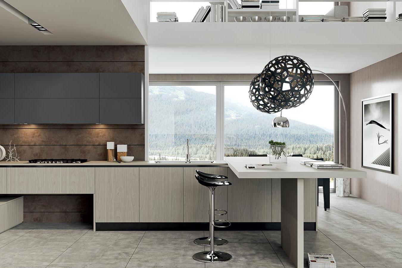 Cucina luna di arredo3 righetti mobili novara for Oggettistica cucina online