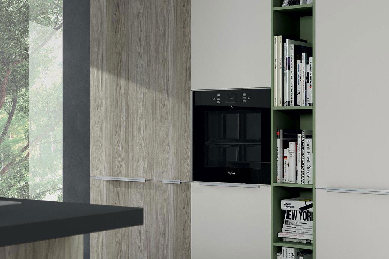 Arredo3-Cucina-Moon-Duna-3-moderna-design-forno-nero-colonna ...