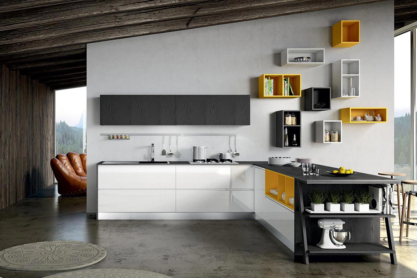 Cucine Piemonte. Elegant Cucine Componibili Cucine Componibili Usate ...