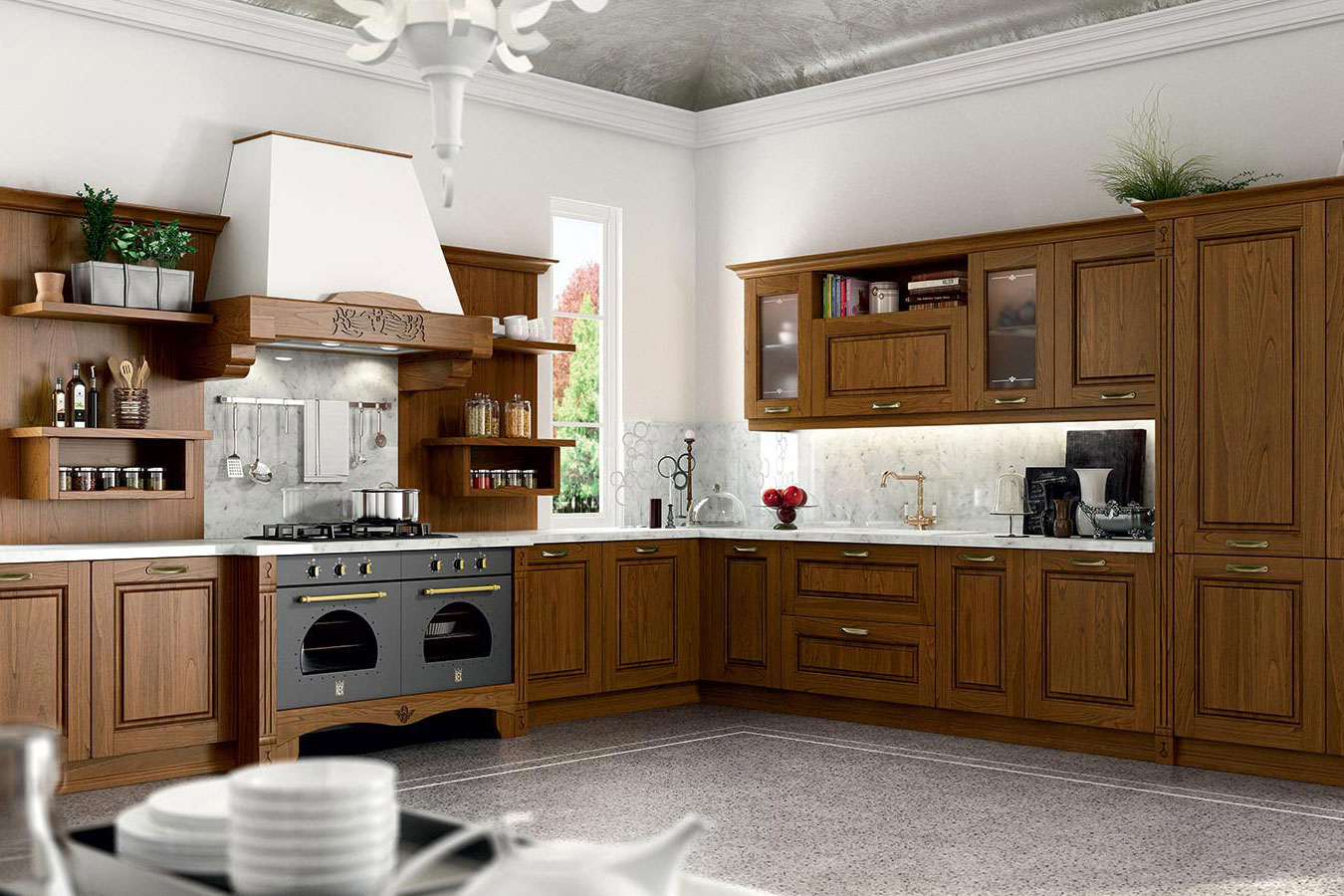 Cucina with cucina classica for Idee arredo cucina classica