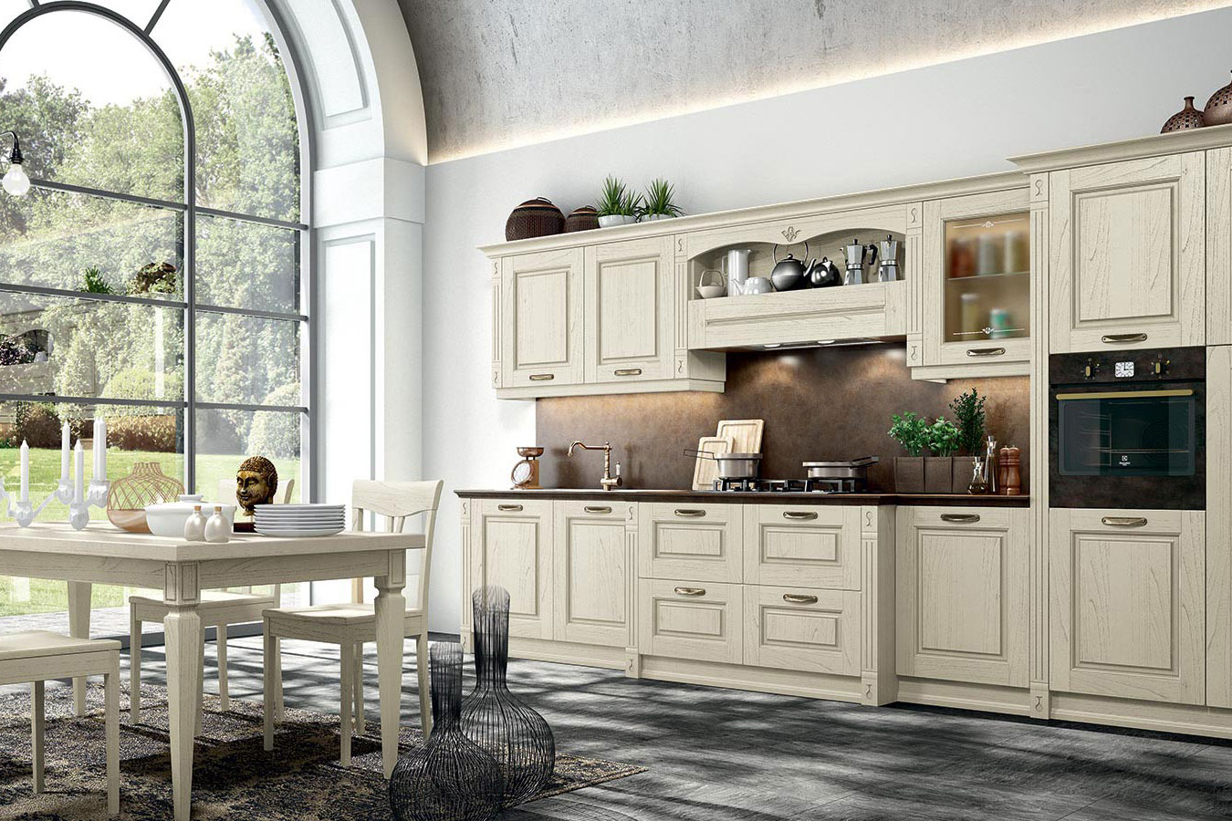 Cucina classica verona di arredo3 righetti mobili novara - Arredamento cucina classica ...