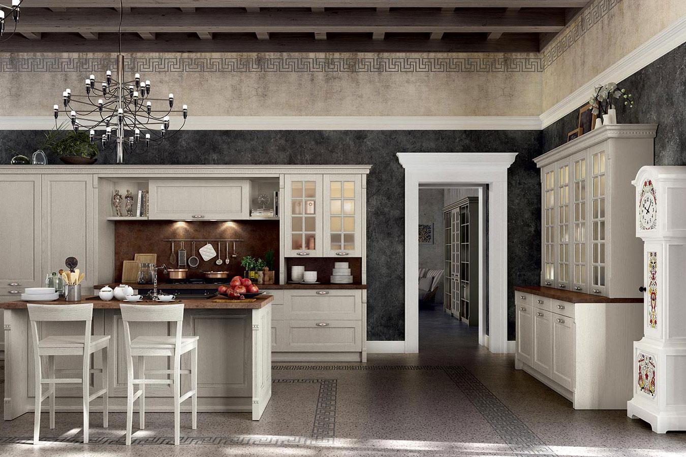 Cucina classica Virginia di Arredo3 da righetti mobili a Novara Piemonte