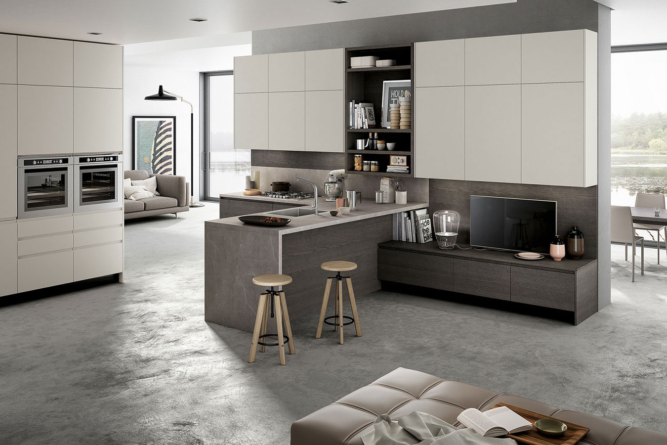 Cucina wega di arredo3 righetti mobili novara for Arredo cucina design