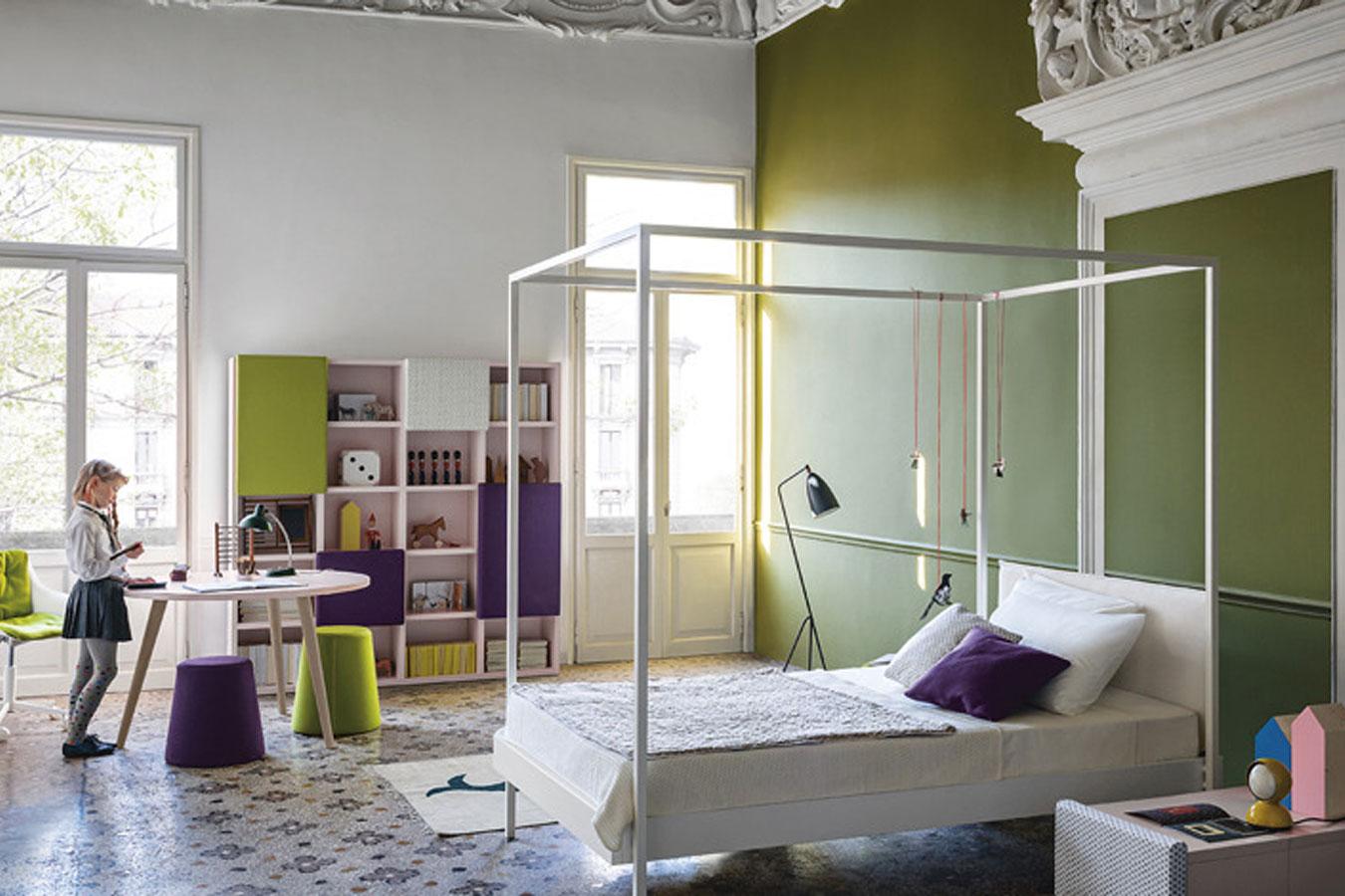 Battistella cameretta collezione nidi soft 1 bambini for Nidi camerette
