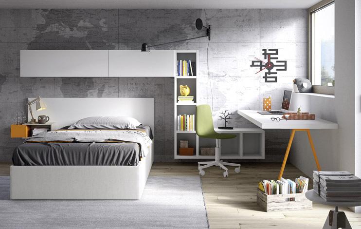 Camerette collezione nidi teen righetti mobili novara for Battistella mobili