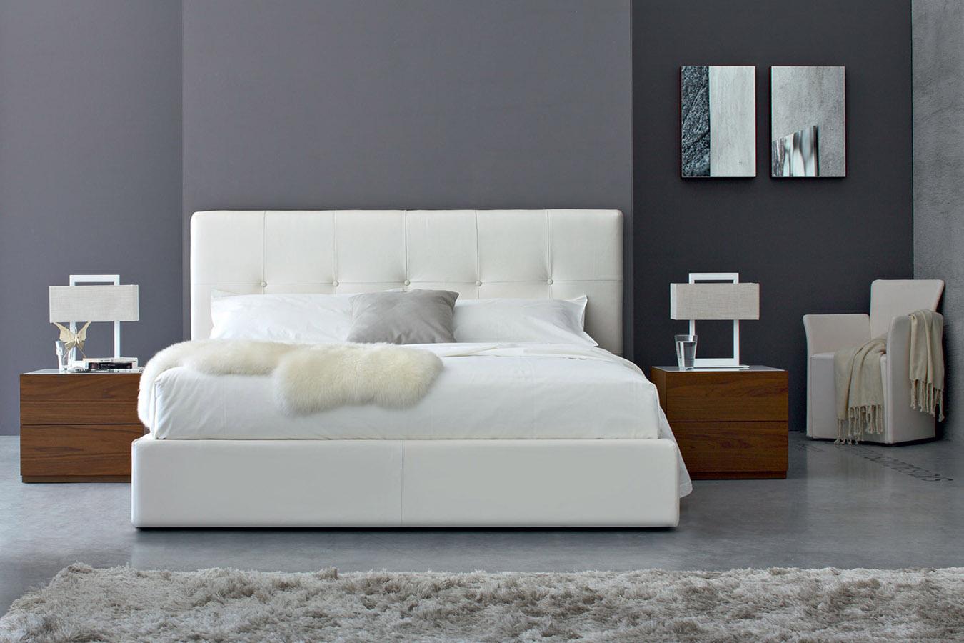 Letto swami di calligaris righetti mobili novara - Calligaris camere da letto ...