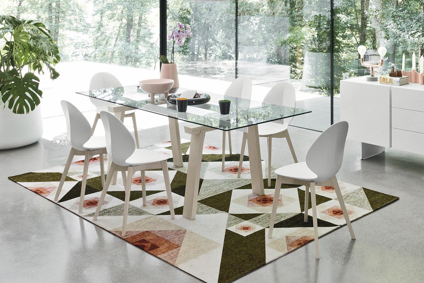 Soggiorni Moderni Calligaris.Calligaris Tavolo Allungabile Levante Moderno Design Pranzo
