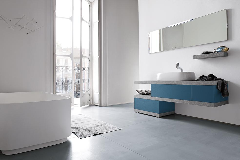 Compab bagno b colors composizione b201 53 mobile lavabo for Programma arredamento interni