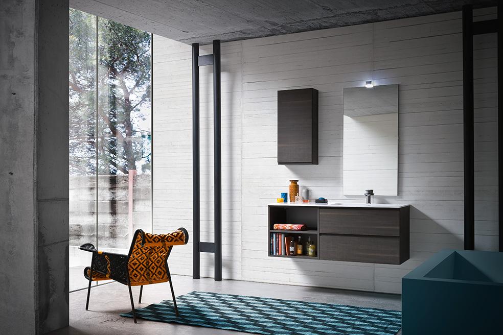 Compab bagno bgo composizione bg29 mobile lavabo moderno arredobagno arredamento interni mobili - Arredo bagno novara ...