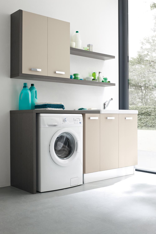 Arredo bagno lavanderia italiana righetti mobili novara - Bagno lavanderia ...