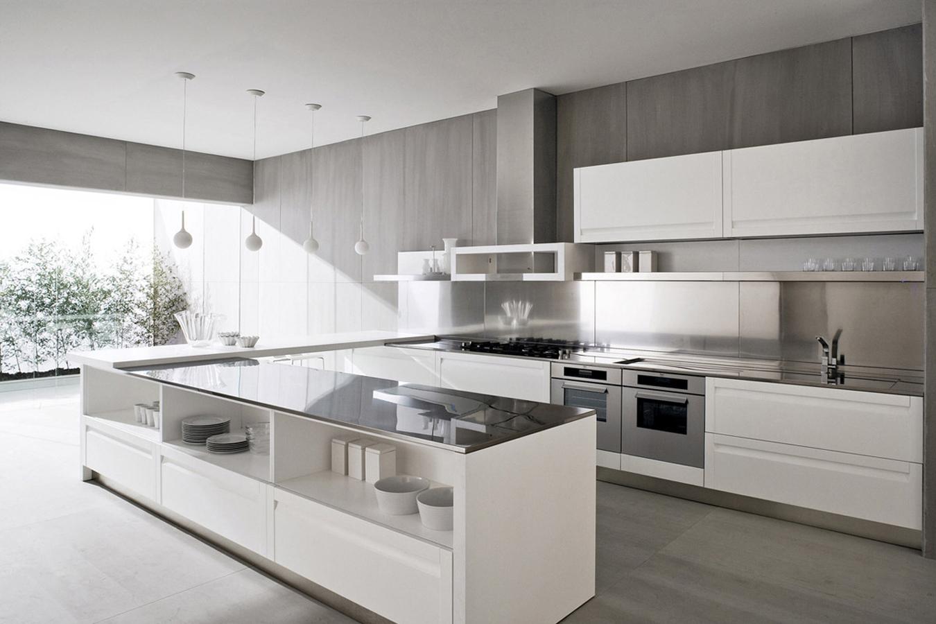 Cucina treviso di gd arredamenti righetti mobili novara for Disegni di grandi cucine