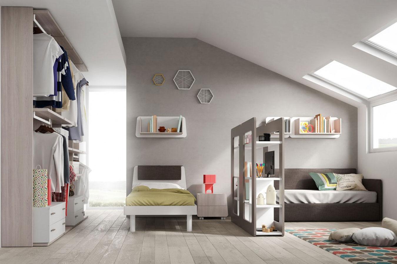 Camerette evo di mistral righetti mobili novara - Camerette per bambini economiche ...