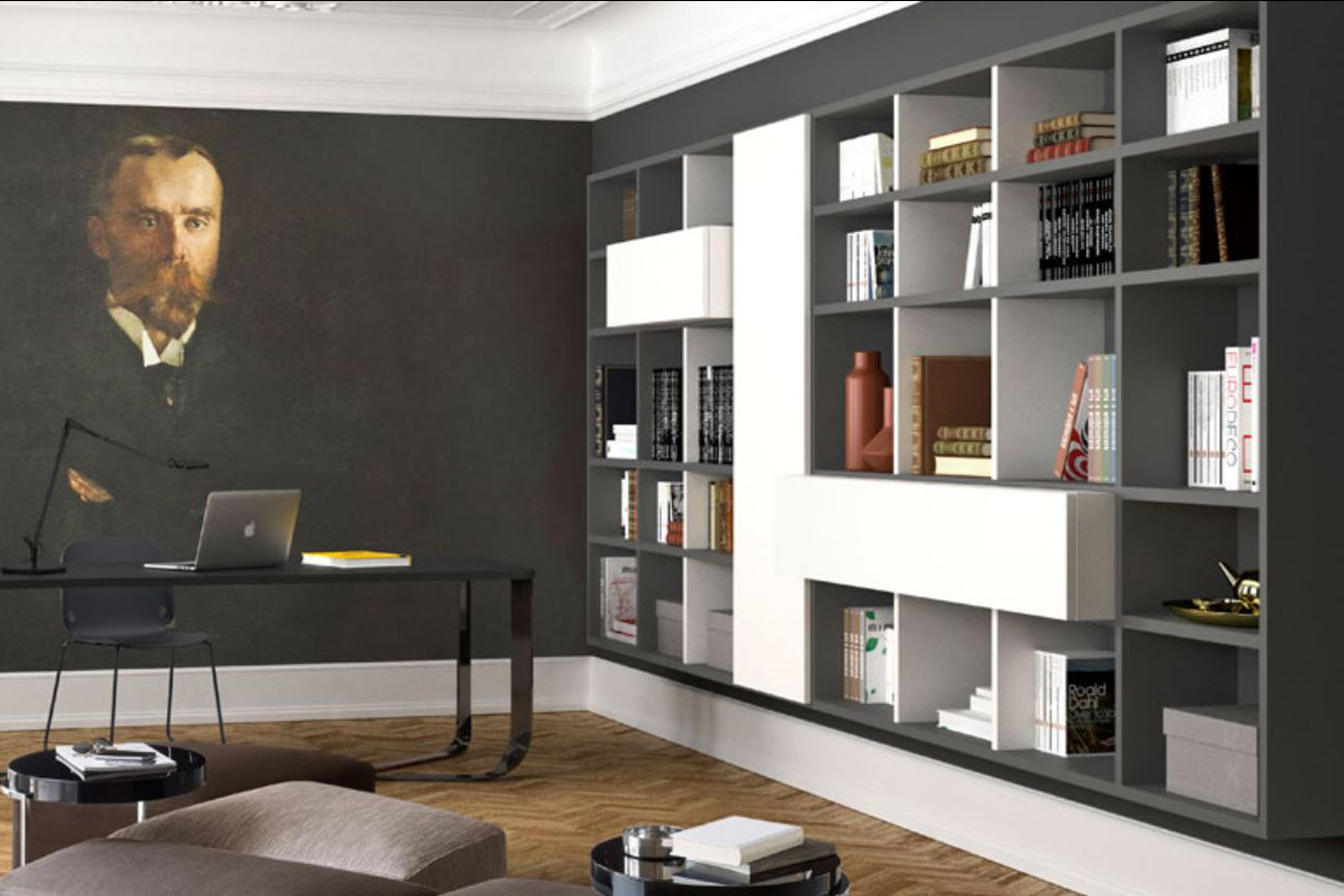 Libreria Molteni. Cool Molteni Home Dalla Molteni Libreria With ...