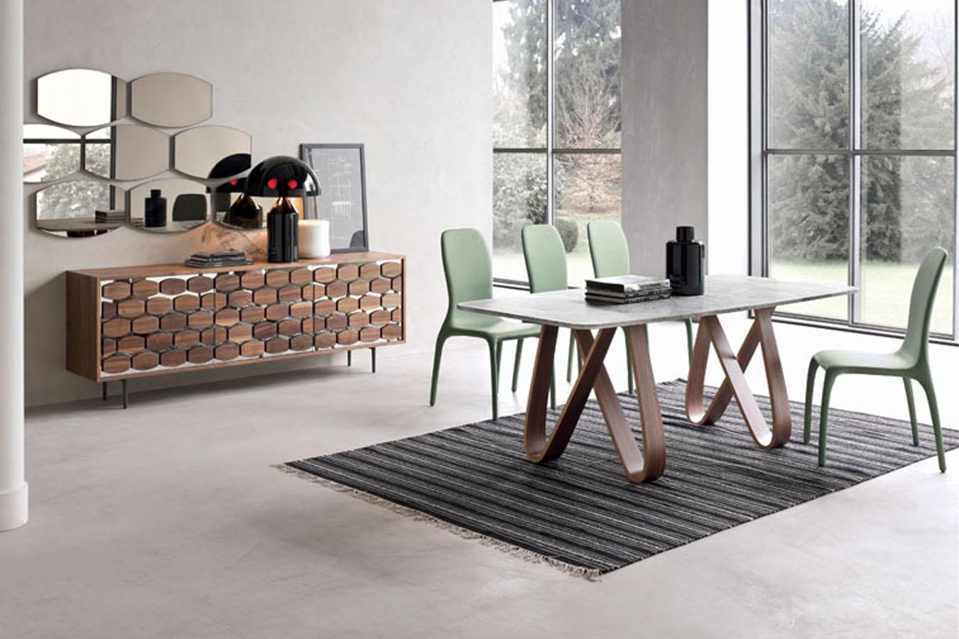 Tonin-casa-tavolo-Butterfly-moderno-design-rettangolare-legno-pranzo ...