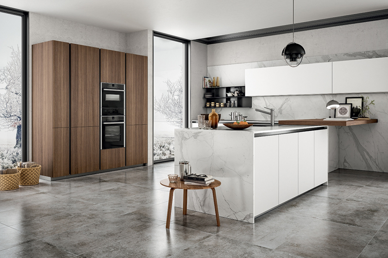 Cucina zetasei di arredo3 righetti mobili novara for Immagini arredamento