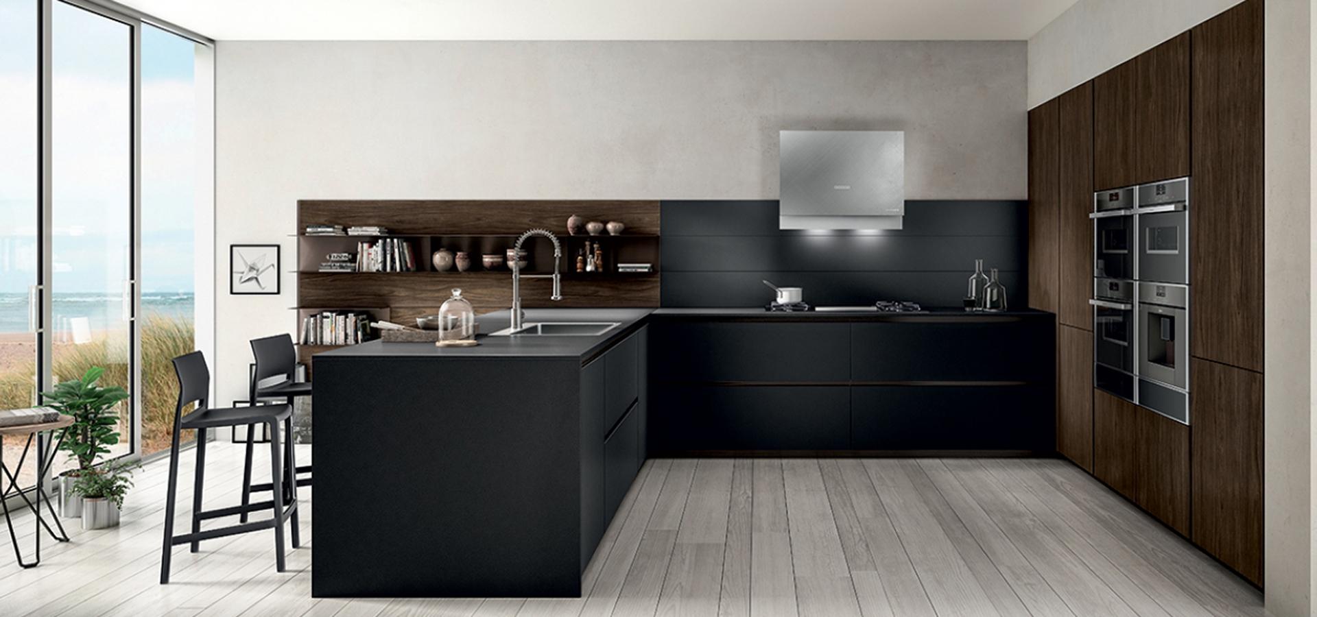 Cucina zetasei di arredo3 righetti mobili novara for Progettazione mobili online