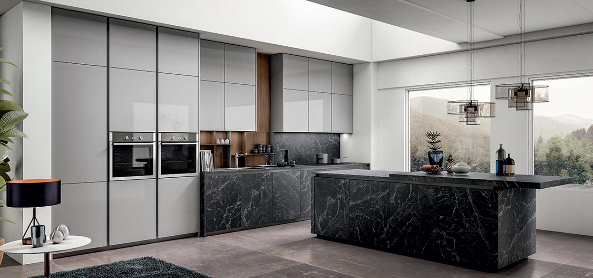 Arredo3 cucina zetasei 5 moderna design componibile angolo for Arredo cucina design