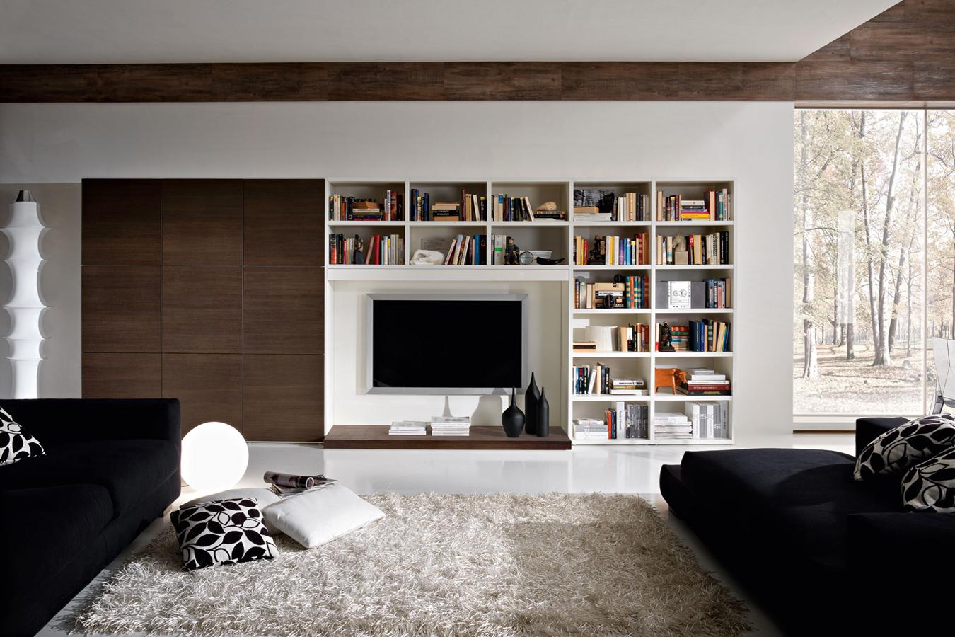Kiko arredamenti parete soggiorno e libreria righetti for Arredamenti vercelli
