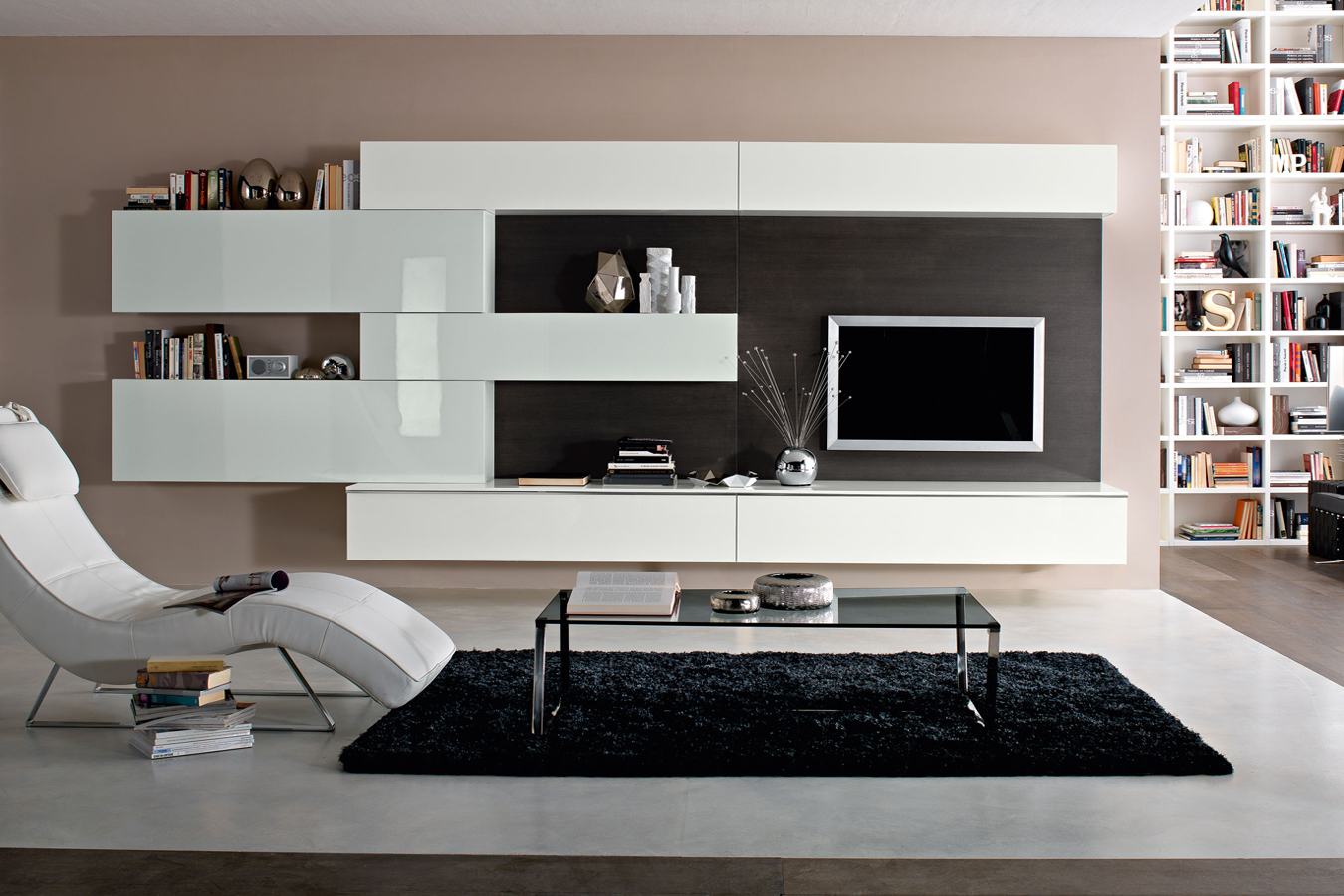 Kiko-Arredamenti-soggiorno-collezione-Contenitori-bianco-lucido ...