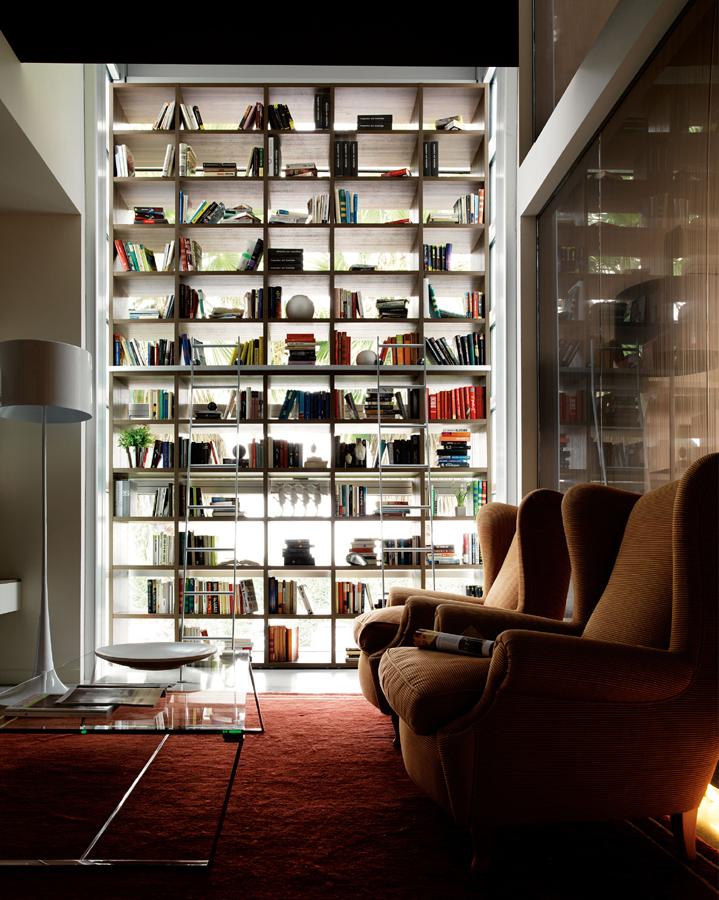 Kiko-Arredamenti-soggiorno-libreria-alta-parete-divisorio ...
