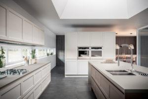 Cucina moderna bianca Gioiosa di GD Arredamenti