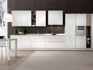 Cucina Moderna Bianca Pro E Contro Righetti Mobili Novara