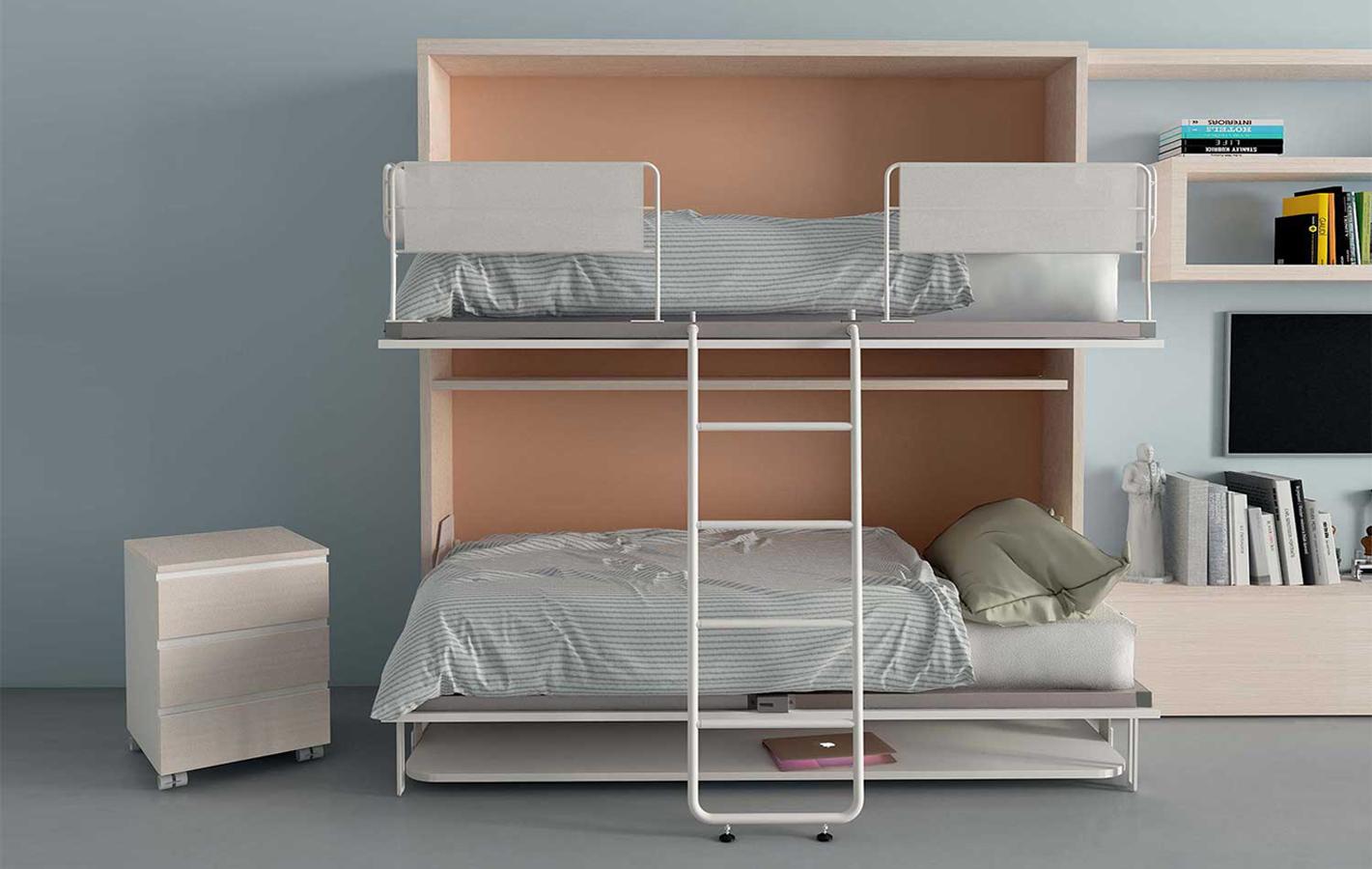 Clever-letto-castello-scomparsa-scrivania-yori-2 - Righetti Mobili ...