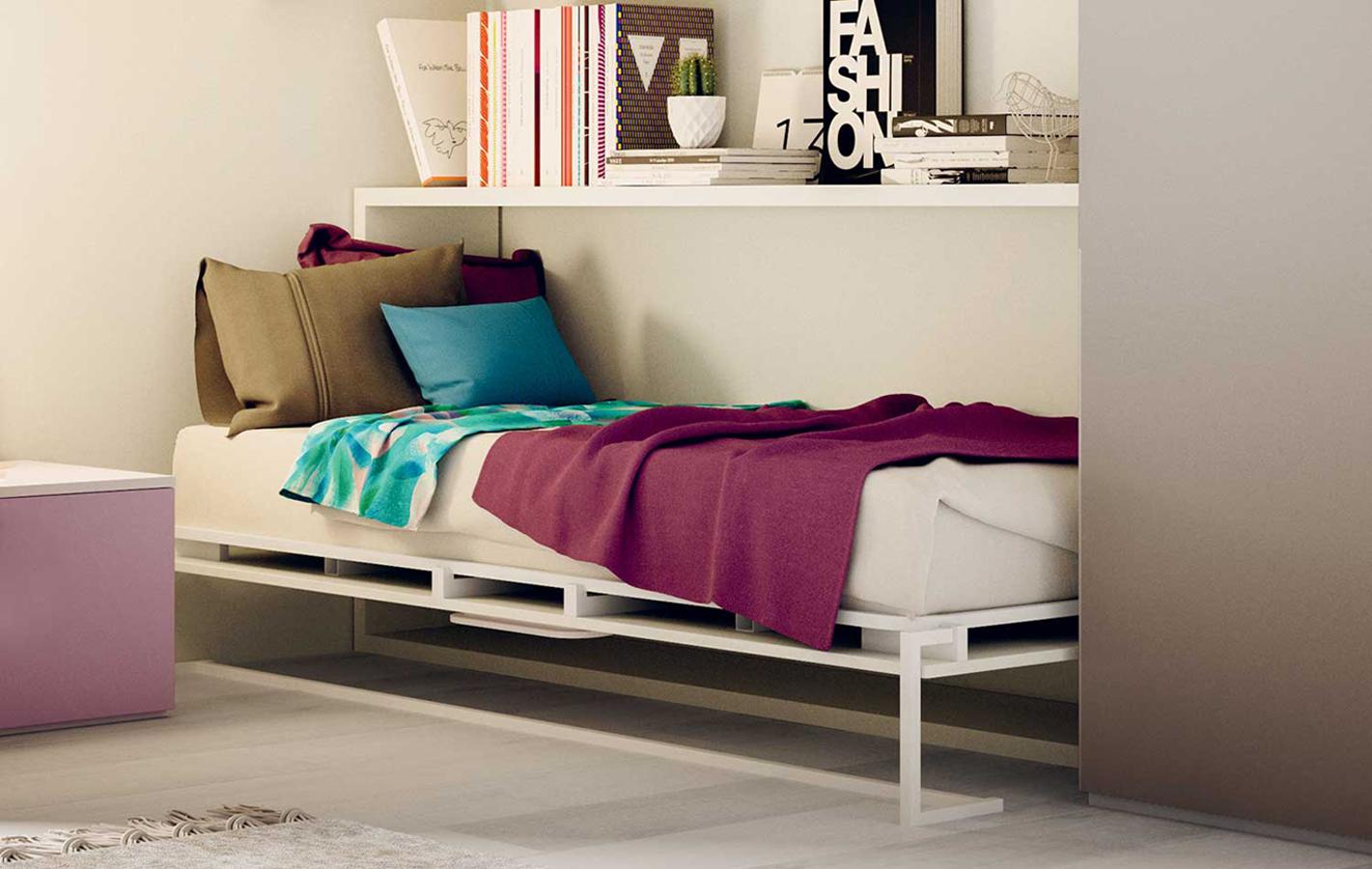 Clever-letto-singolo-scomparsa-orizzontale-nikai-2 - Righetti Mobili ...