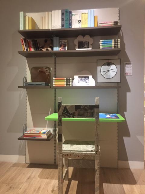 Libreria Scrivania Cameretta.Parete Libreria Scrivania Cameretta Mistral Righetti
