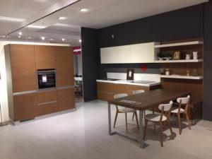 Cucina Moderna Legno Bianca Offerta Righetti Mobili Novara